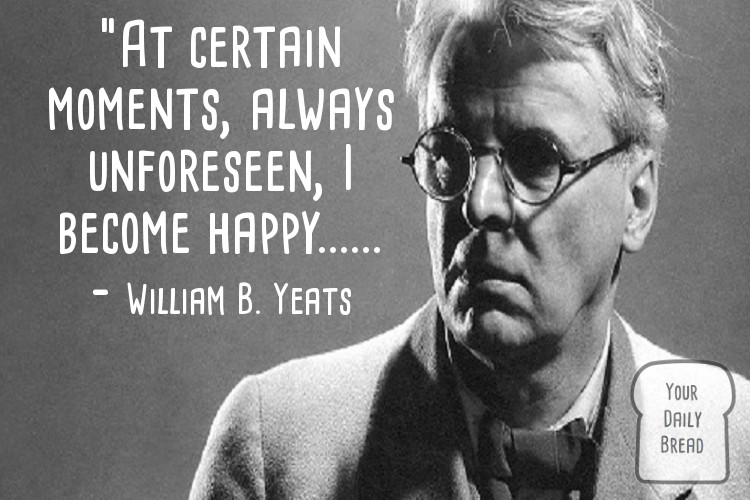 'Cease to hate' – William Butler Yeats